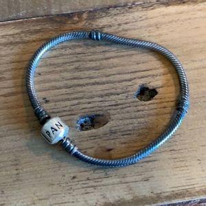 Pandora Jewelry - RARE Gray pandora bracelet